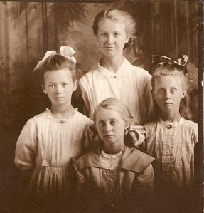 grandma and sisters
